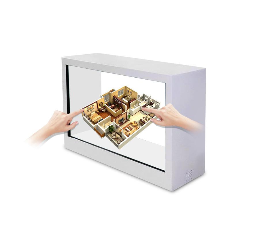32寸透明屏展示柜